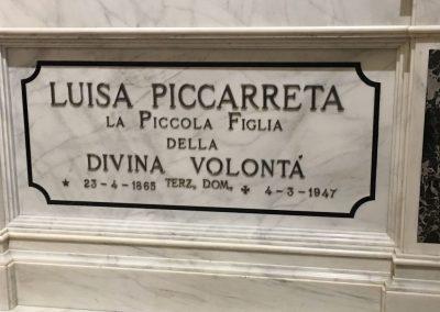Túmulo de Luísa Piccarreta, Corato, Itália