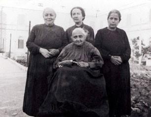 Luísa Piccarreta e irmãs