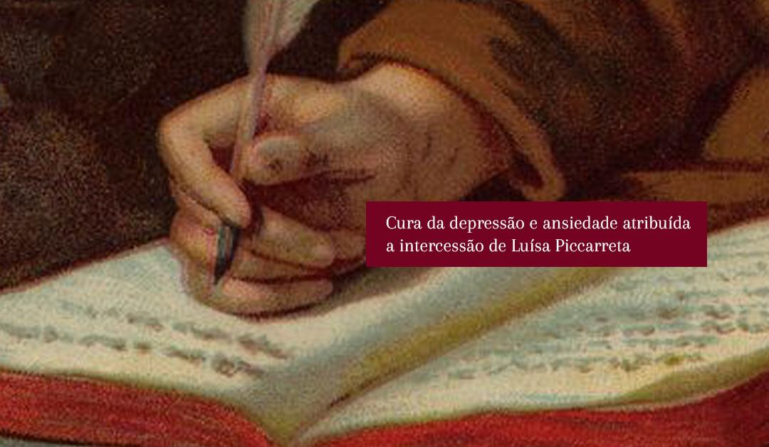 Cura da depressão e ansiedade atribuída a intercessão de Luísa Piccarreta