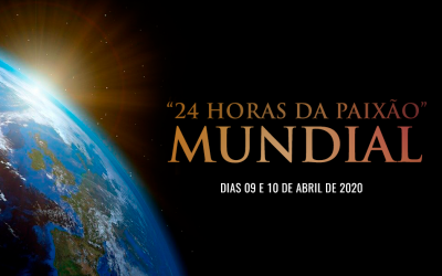 """Participe da meditação das """"24 Horas da Paixão Mundial"""" nos dias 09 e 10 de abril."""