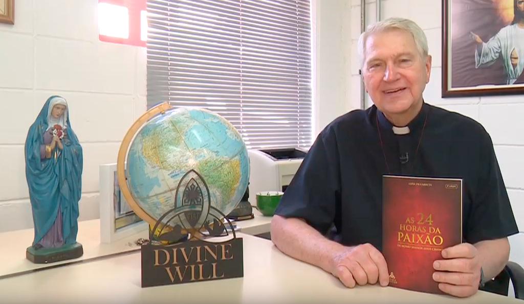 Convite do Pe. Eduardo Dougherty, SJ para as 24 Horas da Paixão  – Mundial (Português/Inglês)