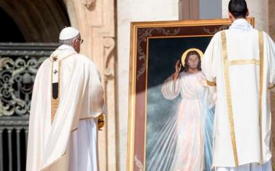 Papa convida a rezar a Jesus Misericordioso frente ao coronavírus