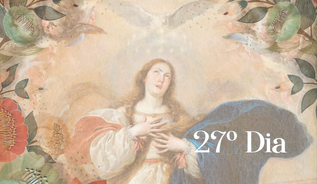 27º Dia: A Rainha do Céu no Reino da Divina Vontade. A hora da dor soa: a Paixão. A morte de Deus. O choro de toda a natureza.