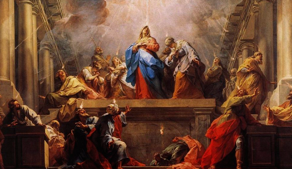 Prayers for May 31, 2020 on Pentecost Sunday