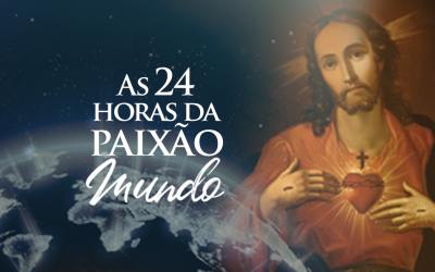 """Participe da meditação das """"24 Horas da Paixão – Mundo"""" nos dias 1º e 2 de novembro."""