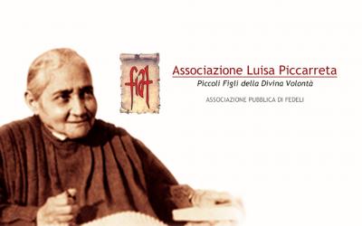Programação da celebração do 74º aniversário de morte da Serva de Deus Luísa Piccarreta