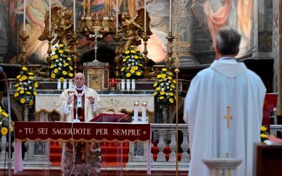 Homília do Papa Francisco no Domingo da Divina Misericórdia